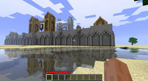 The fortified town. by zeziesc