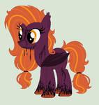 Spooky Ooze Bat Pony Auction CLOSED by Jess4horses