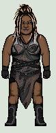 WWE Kharma / Awesome Kong pixel art
