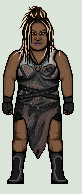 WWE Kharma / Awesome Kong pixel art by exitboundcongaline