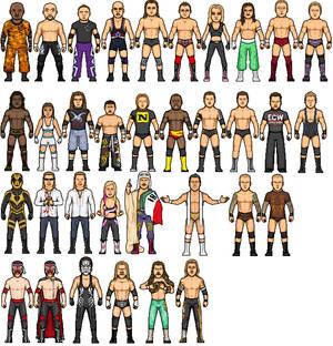 Pro wrestling micros