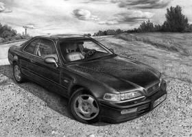 Honda Legend 2nd gen. by VeVe-350Z