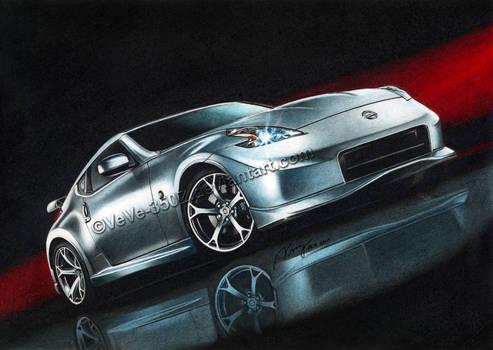Nissan 370Z drawn final