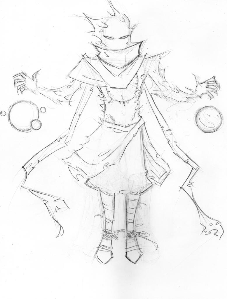 Ex Nihilo sketch by Mailus