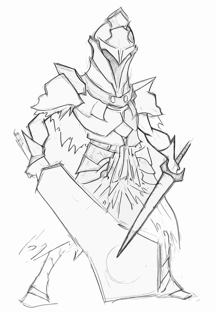 Fume Knight Doodle by Mailus
