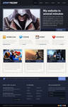 Video game web layout