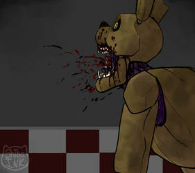 My Name Is Springtrap by Shibaink