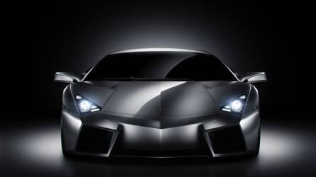 Lamborghini Reventon Front by 3n1-gm4