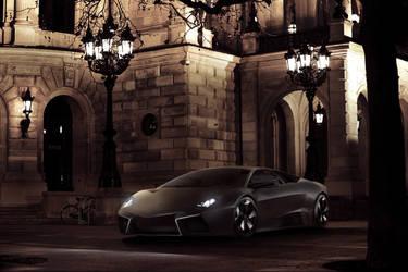 Lamborghini Reventon Opera by 3n1-gm4