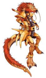 Ravi the Dragon by jessicapadkin