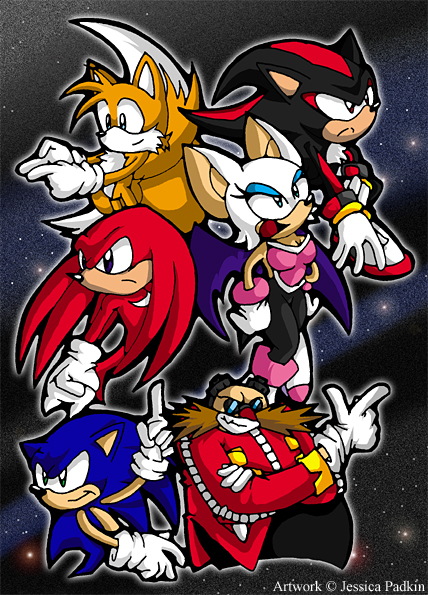 Sonic Adventure 2 Characters By Jessicapadkin On Deviantart
