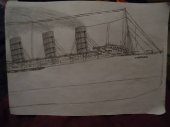 RMS Lusitania (Bow Section) by ArtLover324