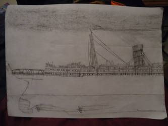 RMS Lusitania (Stern Section) by ArtLover324