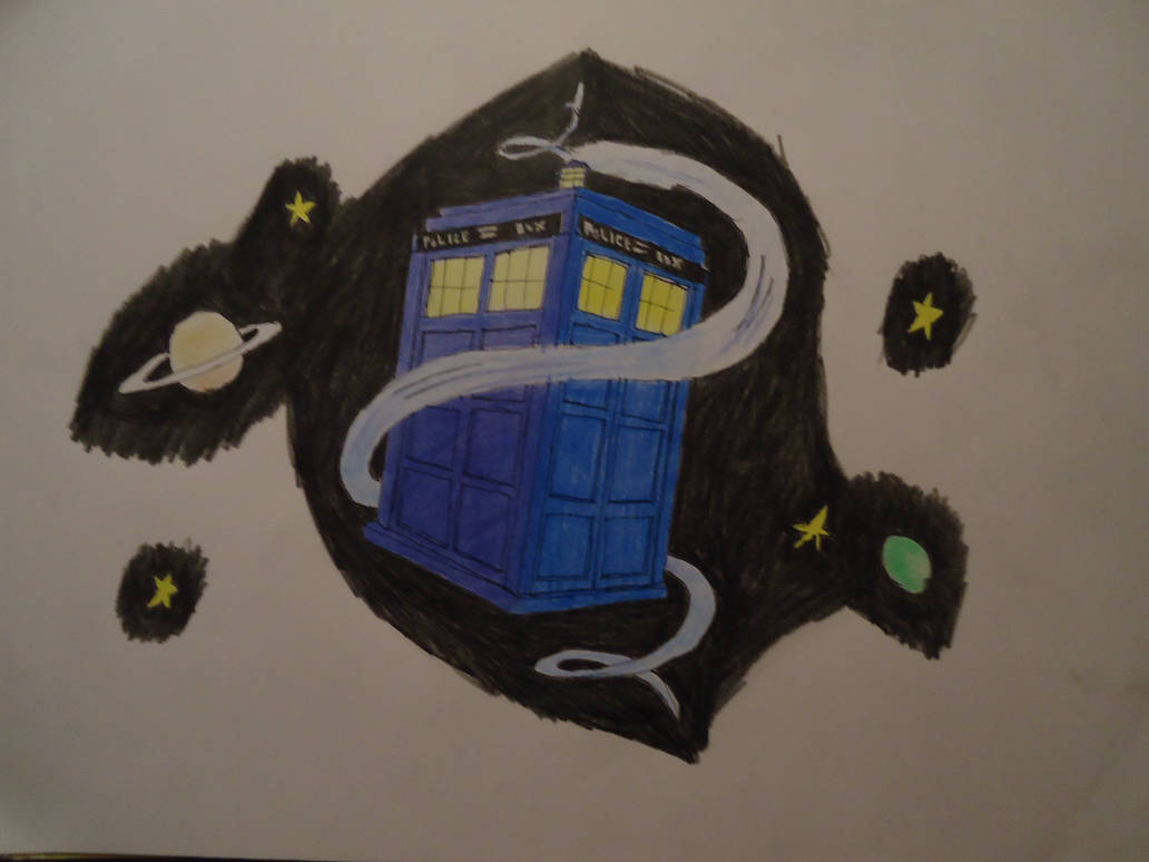 Doctor Who Tardis (whooshing/Flying) by ArtLover324