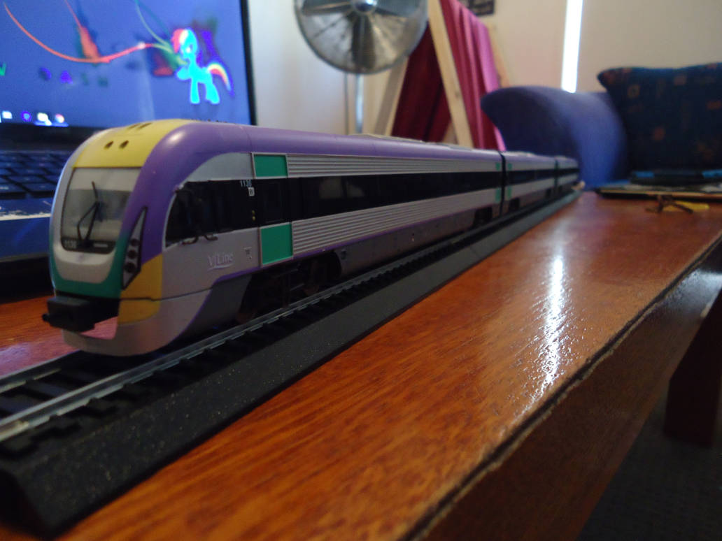 Australian V/Line VLocity. by ArtLover324