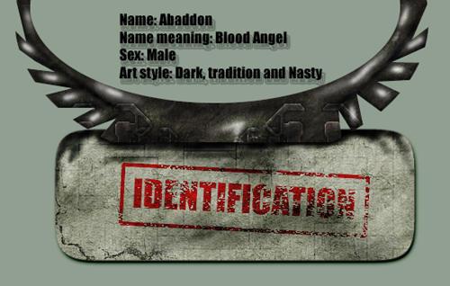 Abaddon36 devart ID 2 by abaddon36