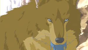 Kouga Wolf Demon Form