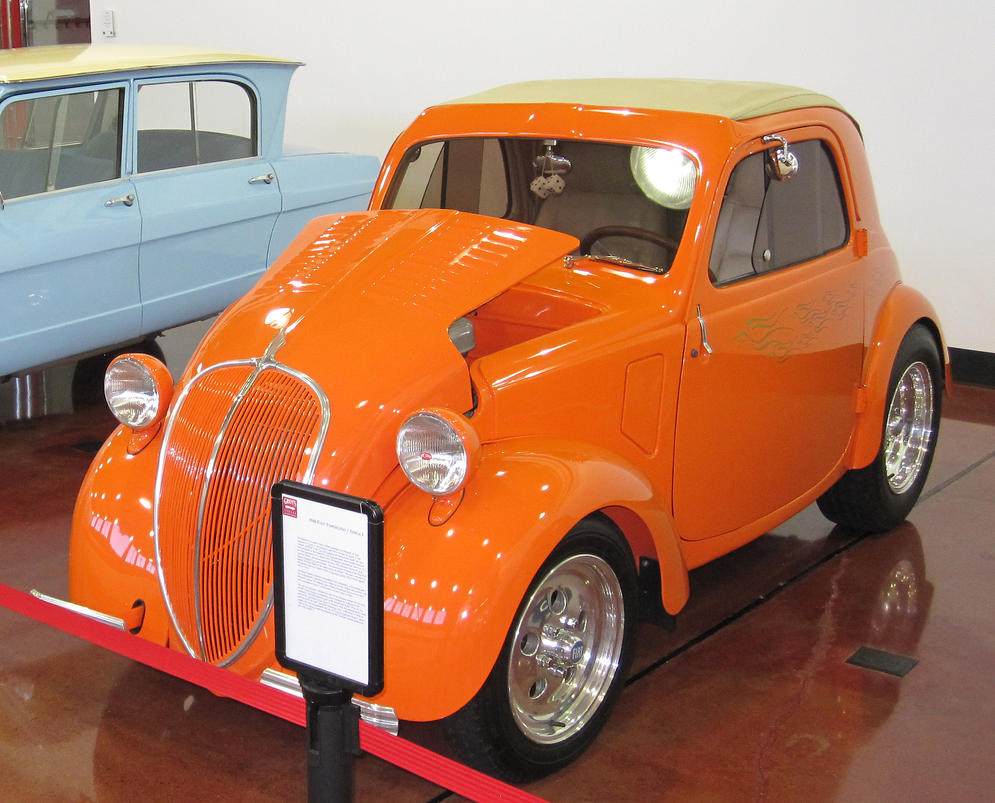 What 39 s in the garage 1946 fiat topolino simca 5 by for Garage fiat marignane