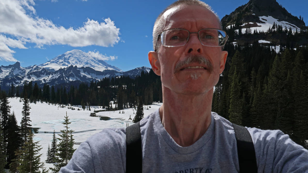 At Tipsoo Lake June 2019 by videodude1961