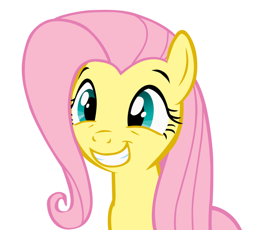 Fluttershy Squee by officer-rabbit on DeviantArt