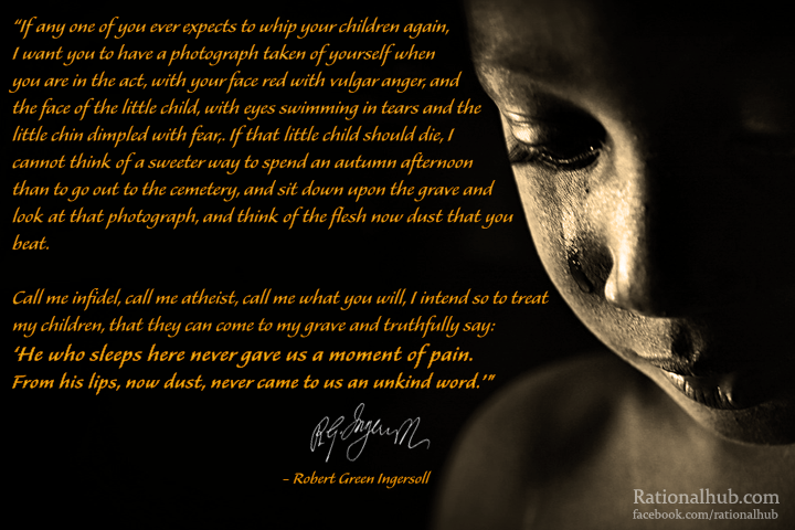 Ingersoll on Raising Children.. by rationalhub