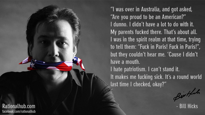 Bill Hicks on Nationalism.. by rationalhub
