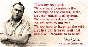 Bukowski on life... by rationalhub