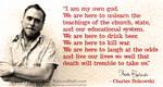 Bukowski on life...