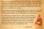 Ernestine Rose on Religion and Morality...