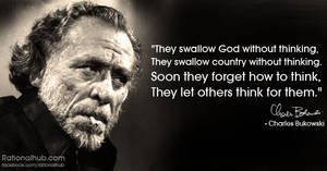 More Bukowski...
