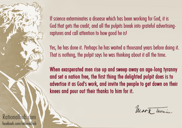 Mark Twain on Pulpits.. by rationalhub