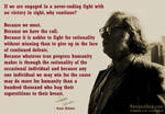 Isaac Asimov on being rationalists..