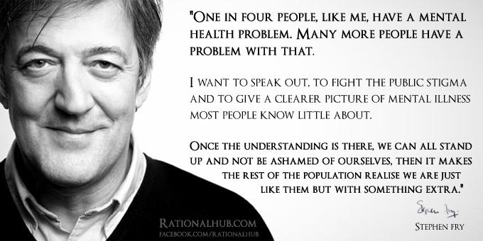 Stephen fry on mental illness.. by rationalhub