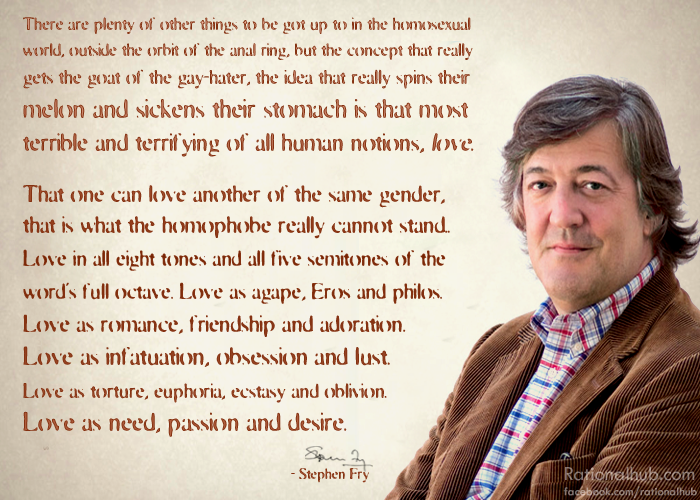 Stephen fry on homophobia.. by rationalhub