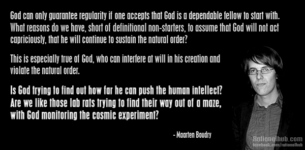 Maarten Boudry on theistic god... by rationalhub