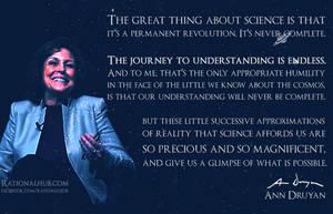 Ann Druyan on Science.. by rationalhub
