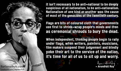 Arundhati Roy on Nationalism.. by rationalhub