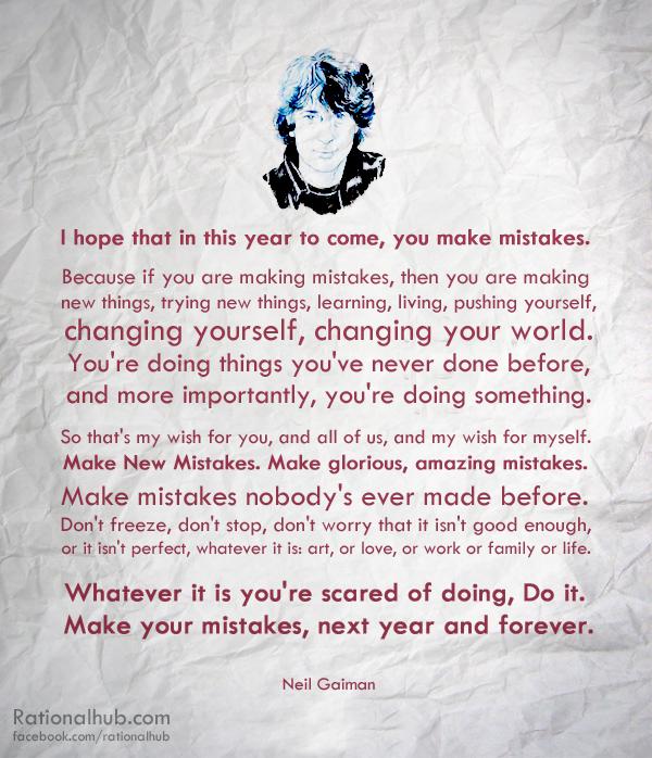 Neil Gaiman New Year Quotes: Neil Gaiman By Rationalhub On DeviantArt