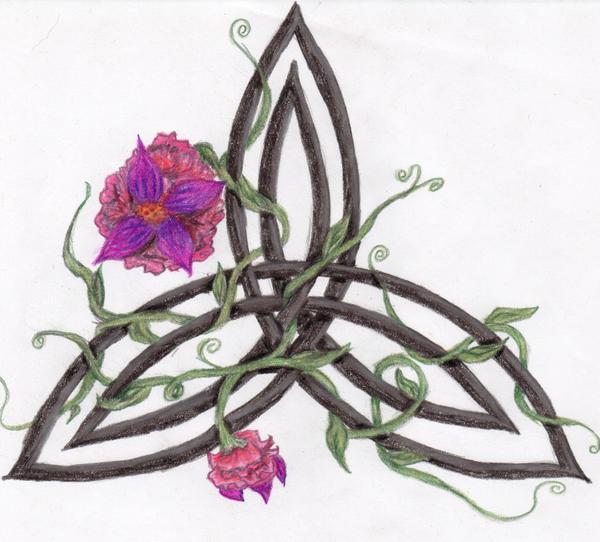 Celtic Daisy Tattoo: Trinity Knot By Beloved-Cyst On DeviantArt