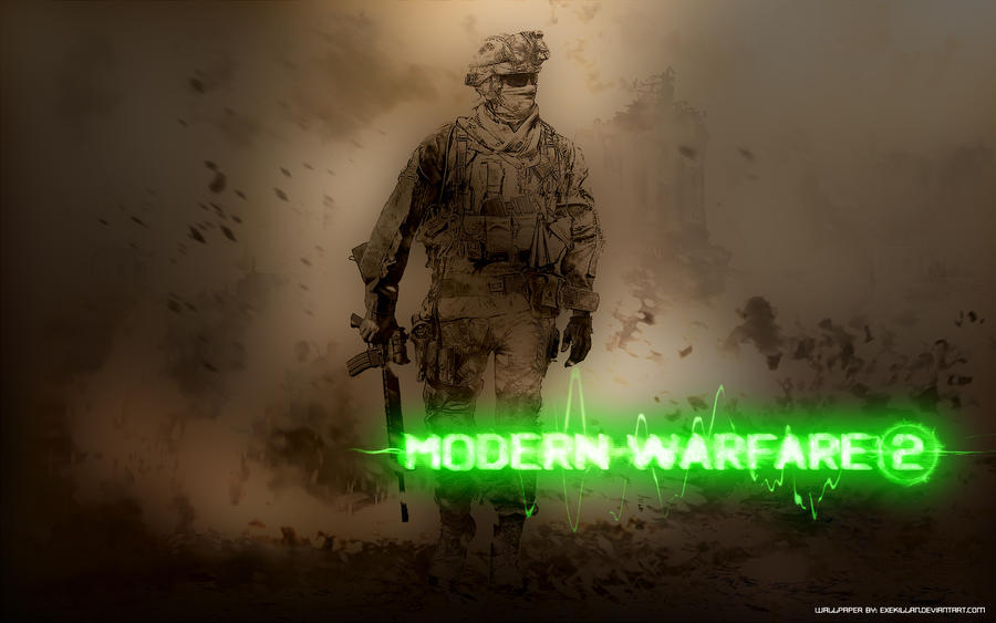 CoD MW2 Wallpaper By Exekillan