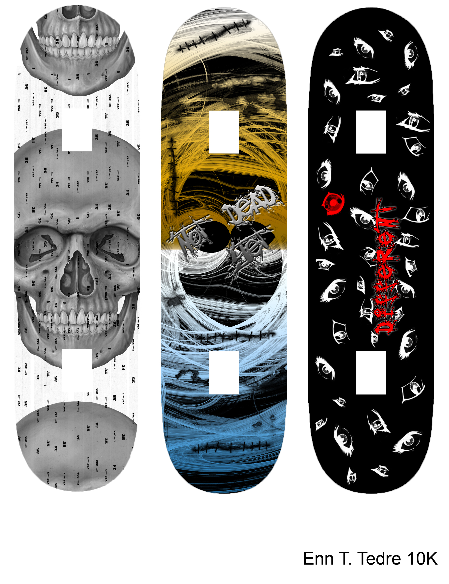 skateboard design by exekillan designs interfaces other 2010 2015