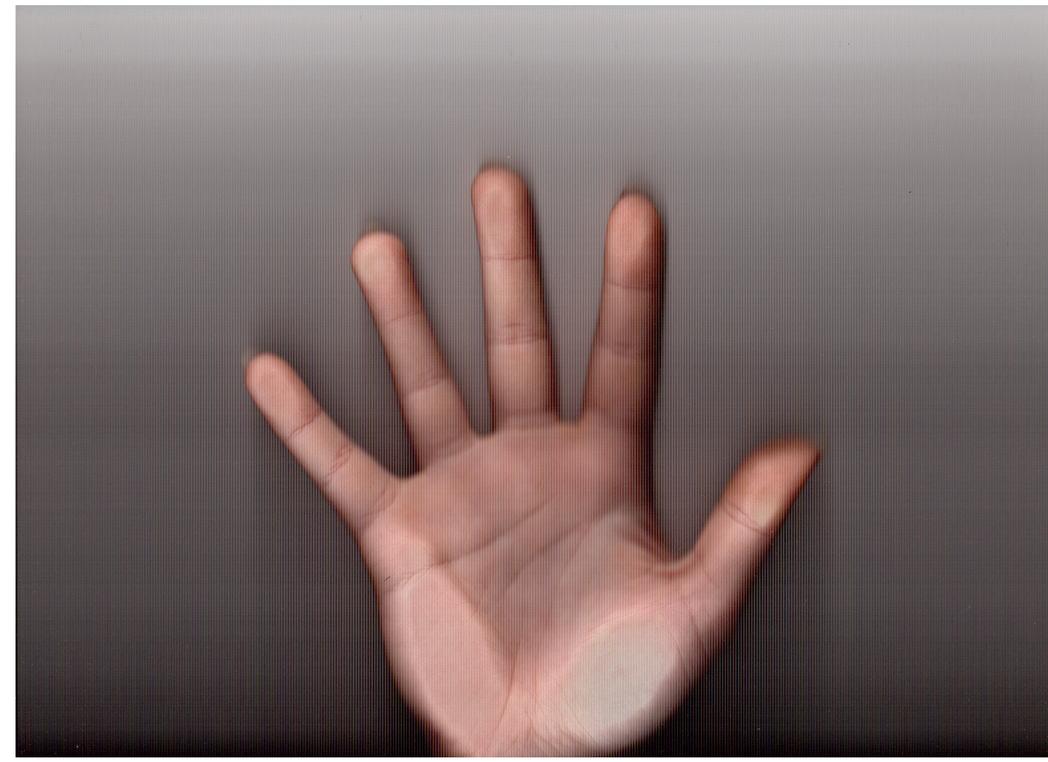 My hand by JustCarolineKlein
