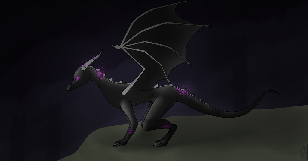 The Enderdragon by JustCarolineKlein