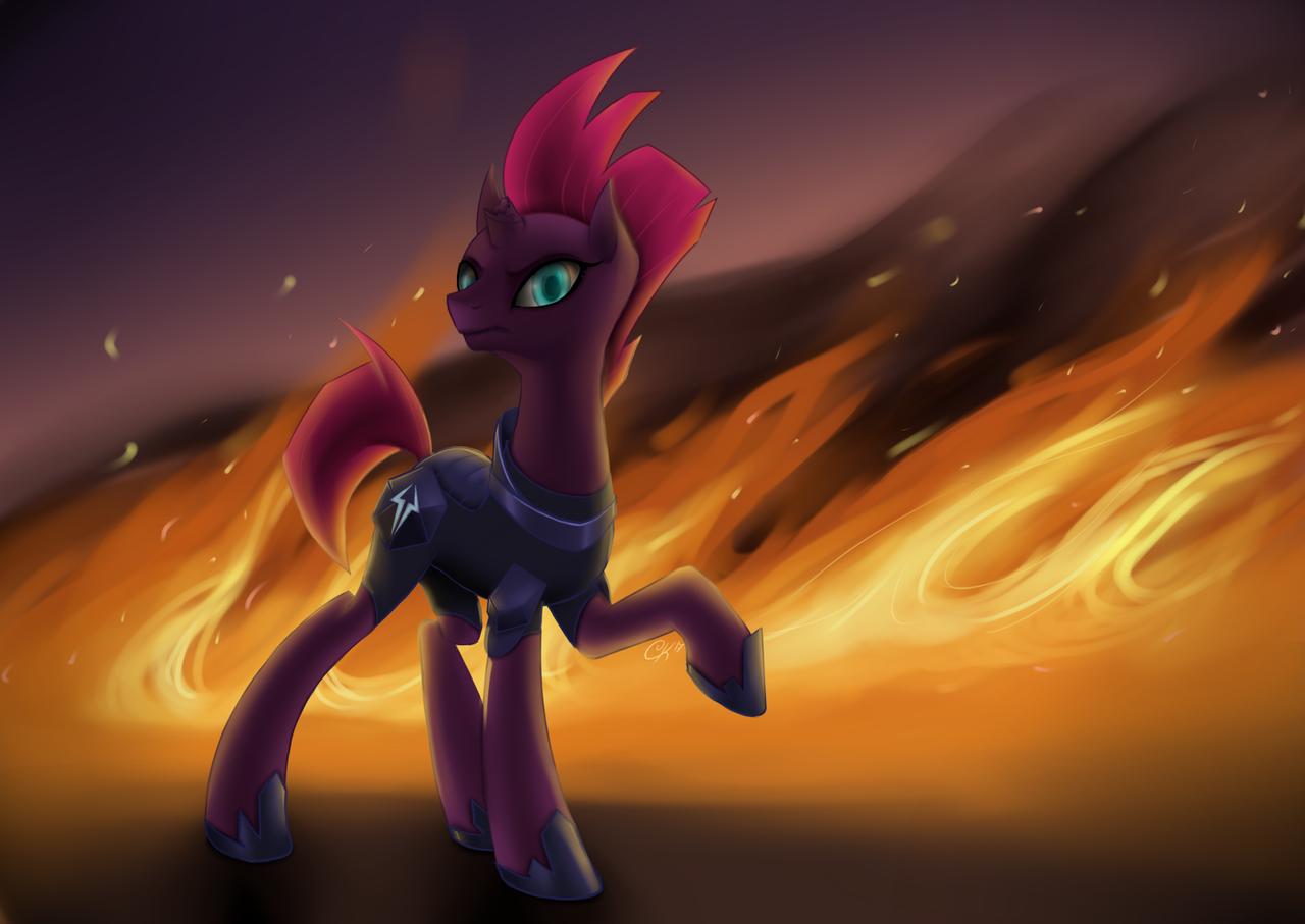 Badass Tempest Shadow by JustCarolineKlein