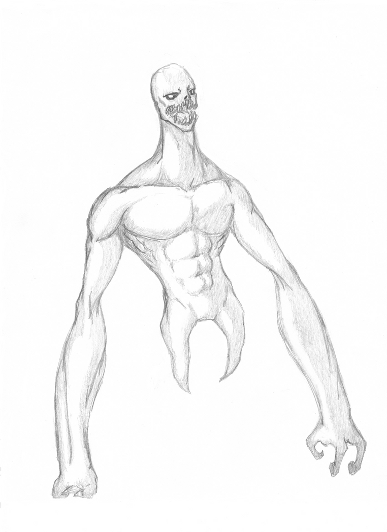 :Erie: Mutant Monster by KeiHeartU