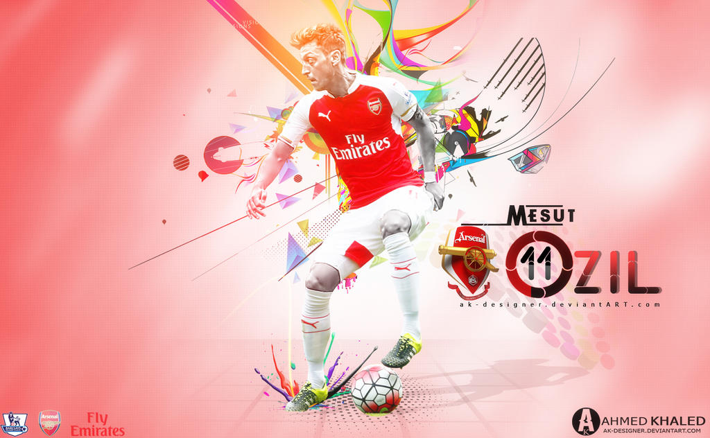 Mesut Ozil Wallpaper 2016 By AK-DESIGNER On DeviantArt