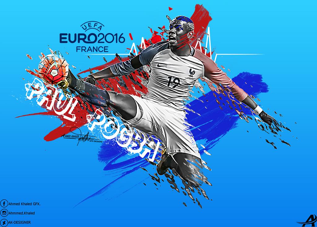 Paul-pogba-wallpaper-2016 By AK-DESIGNER On DeviantArt