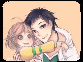 Wataru and Subaru by Saylor-boo