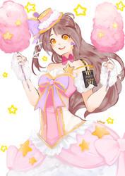 Cotton Candy Princess: Kotori Minami by Saylor-boo