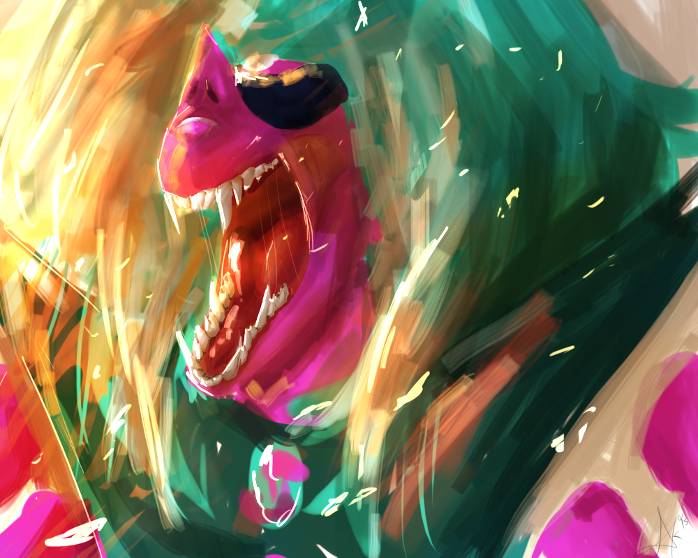 let's show a very very angry alexandrite :v